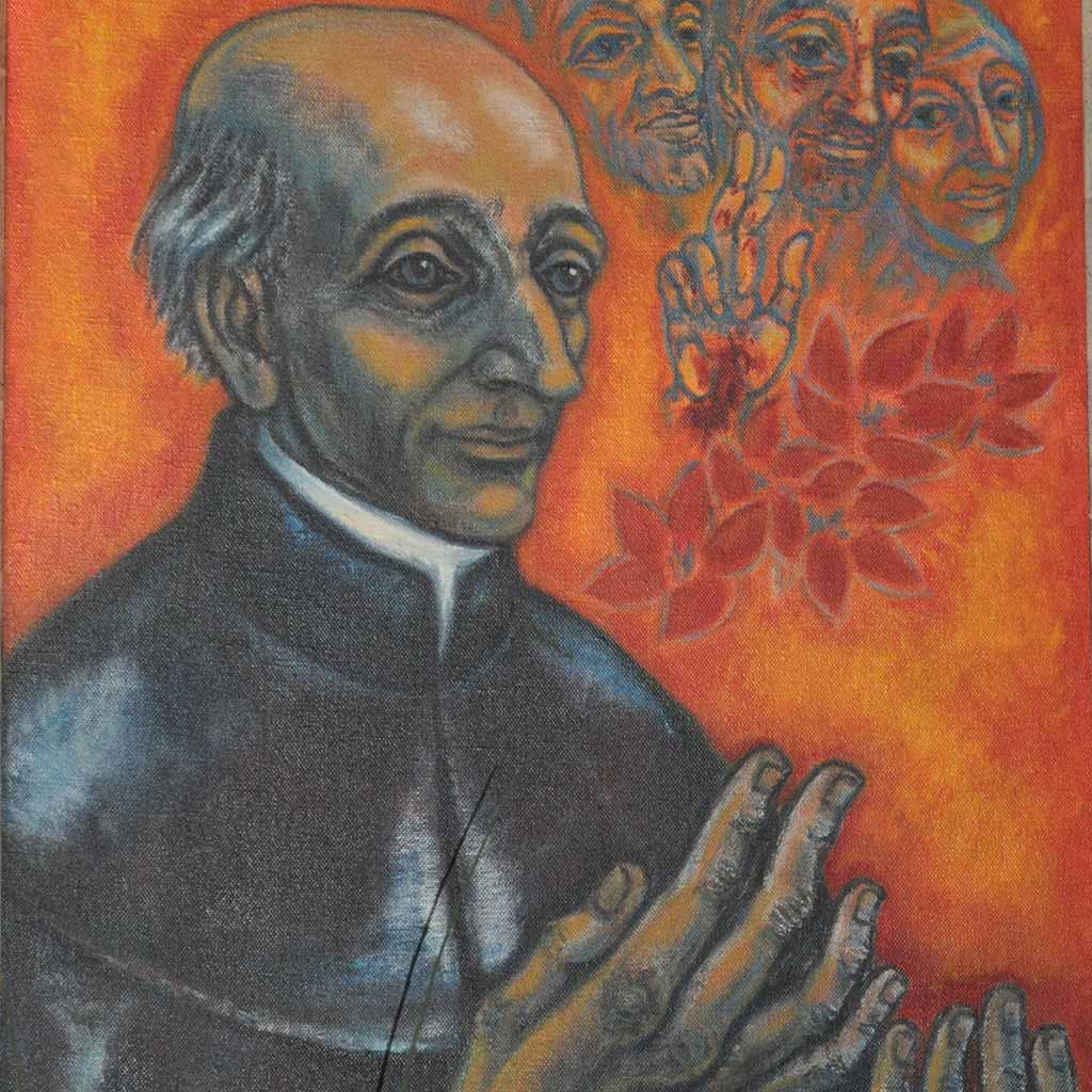 Vinzenz Pallotti Gemälde im Apostolatshaus Hofstetten