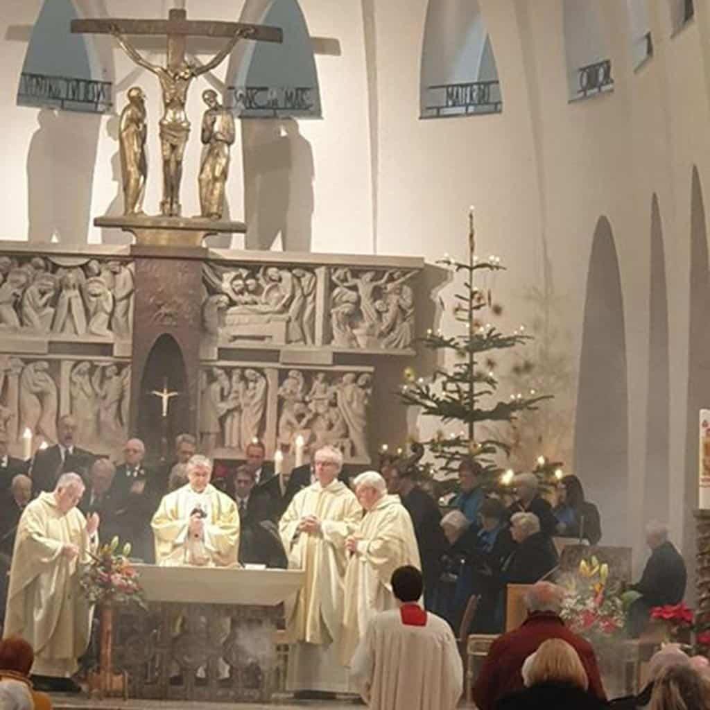 Festgottesdienst der Limburger Pallottiner zum Gedenktag des heiligen Vinzenz Pallotti