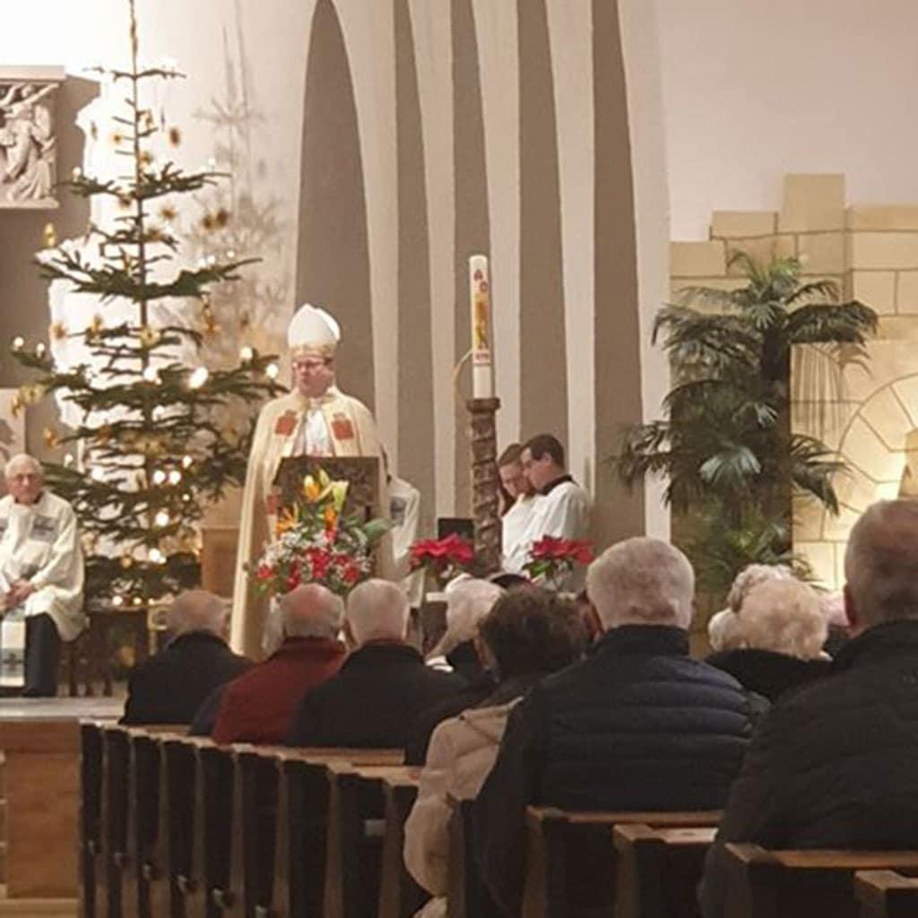 Bischof beim Gottesdienst zum Pallottifest in Limburg