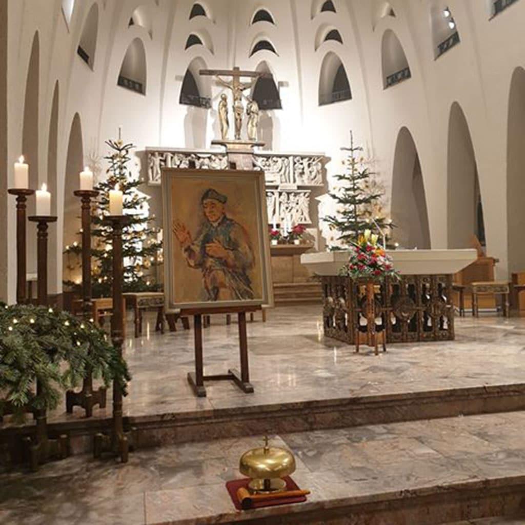 Fest zu Ehren Vinzenz Pallottis in der Limburger Pallottinerkirche St. Marien