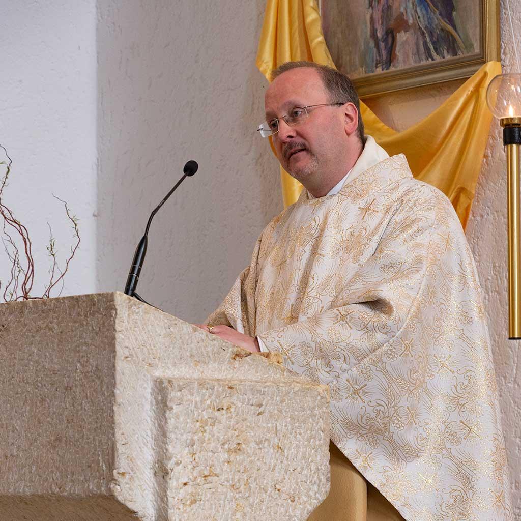 Rektor Pater Christian Stumpf SAC Freising Pallotti Haus