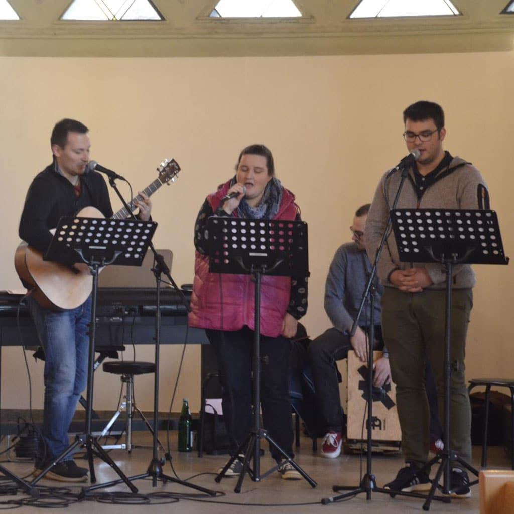 Jugendhof-Band des Jugendhof Pallotti Lennestadt