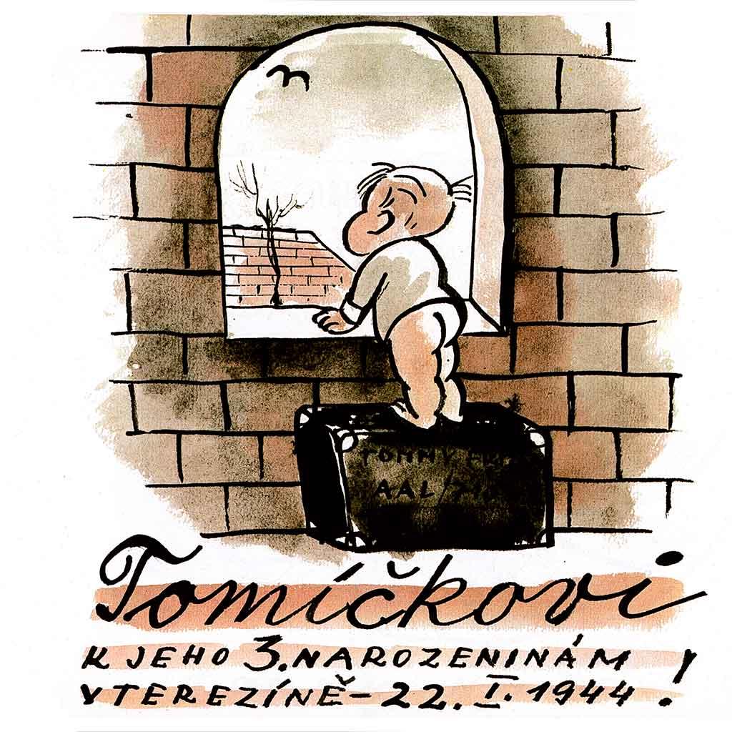 Für Tommy zu seinem dritten Geburtstag in Theresienstadt Verlag Friedrich Pustet