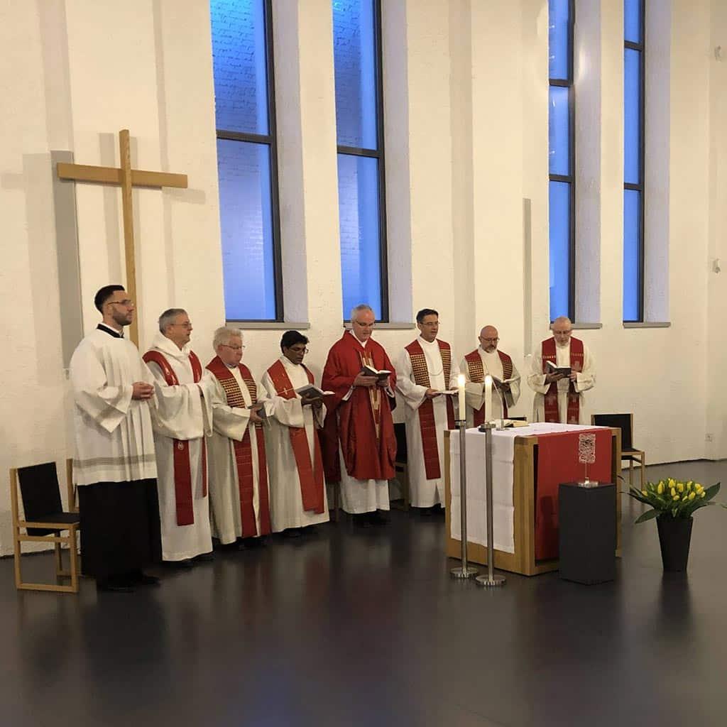 Gedenkgottesdienst für Pater Richard Henkes an seinem 75. Todestag