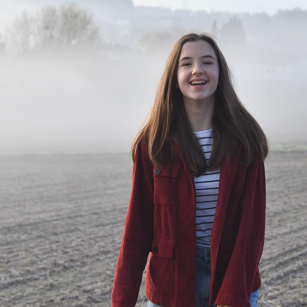 Interview mit Emma Rosenberg in der Wasserburg