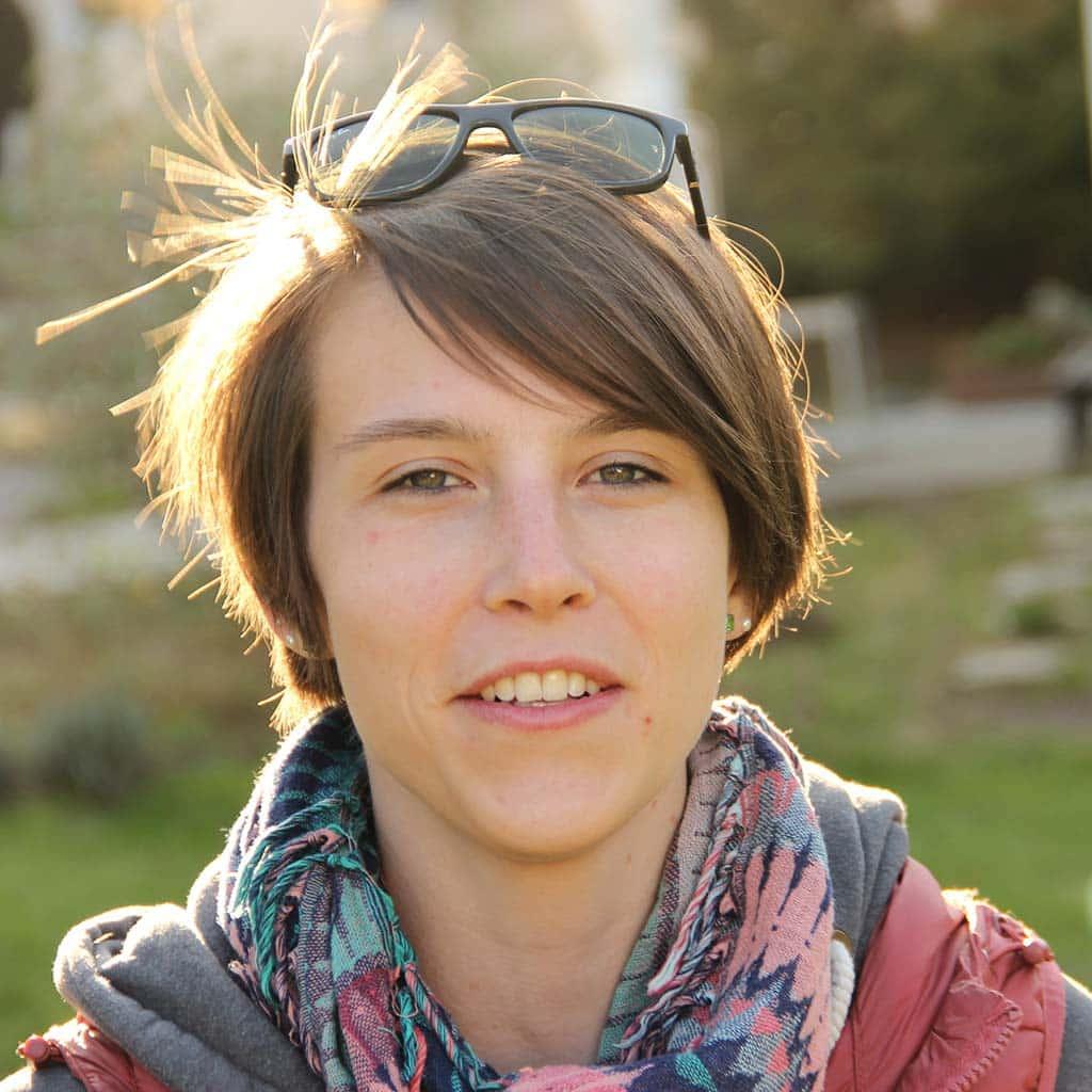 Jugendbildungsreferentin Hannah Naundorf ist Leiterin des pädagogischen Teams der Wasserburg