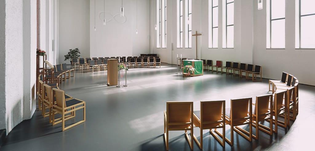 Die Pallotti-Kirche in Friedberg
