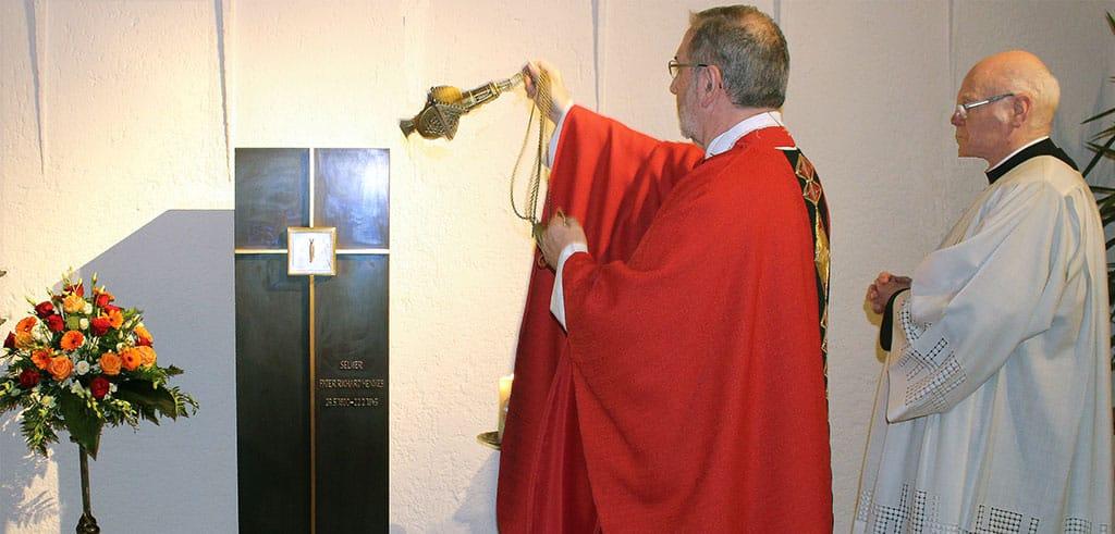 Gedenken an Pater Richard Henkes an seinem 75. Todestag in der Pallottinerkirche St. Marien in Limburg