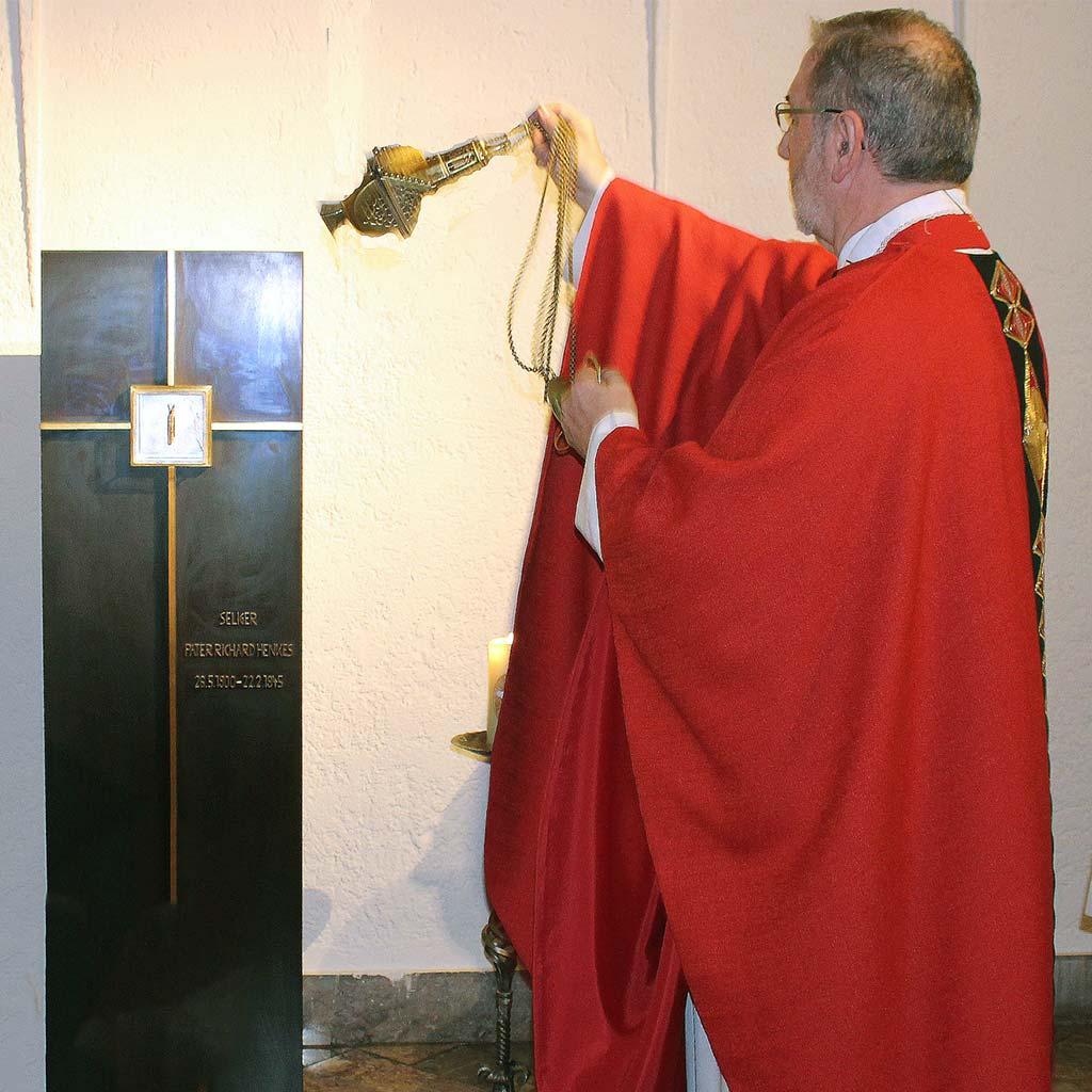 Gedenkfeier am Todestag von Pater Richard Henkes in der Pallottinerkirche St. Marien in Limburg