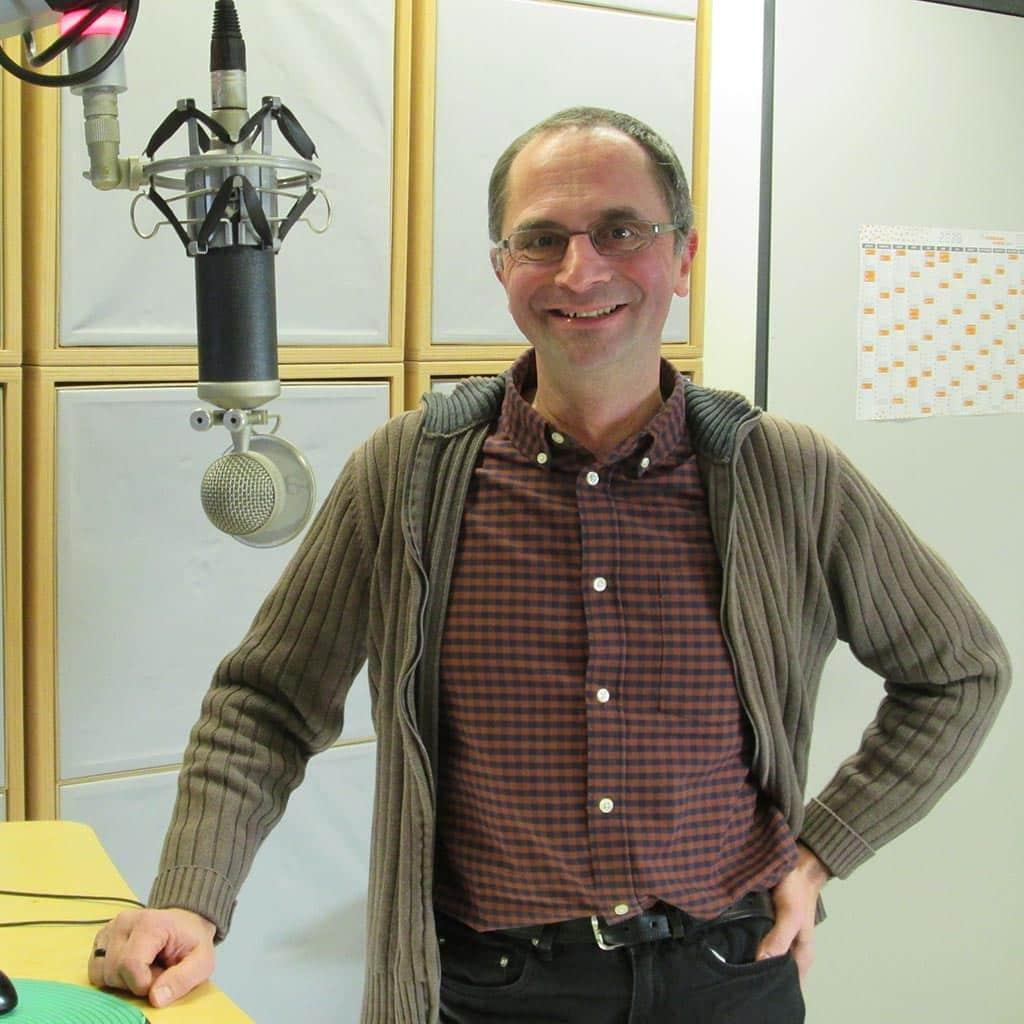 Pater Jochen Ruiner SAC bei Radio Grüne Welle