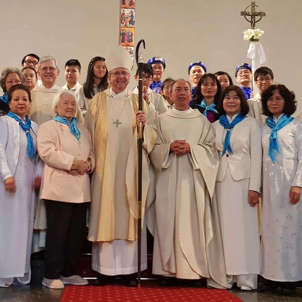 Vietnamesische Gemeinde in Hamburg-Rahlstedt feiert Neujahr!