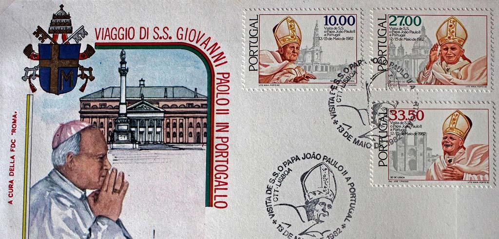 Sonderstempel und Sondermarken aus Portugal