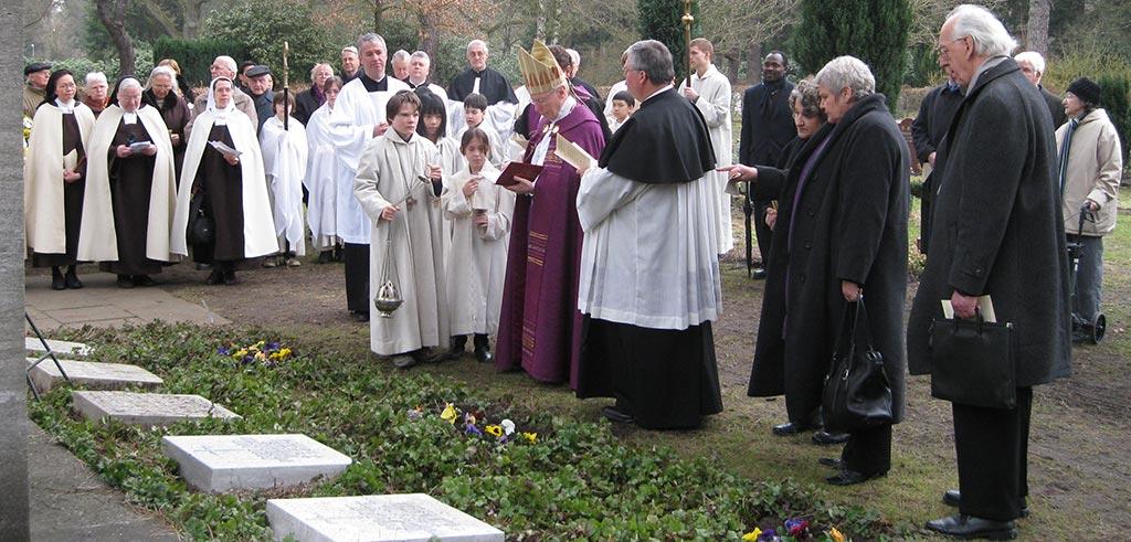 Gedenkfeier für Pater Max Größer 2010 in Hamburg