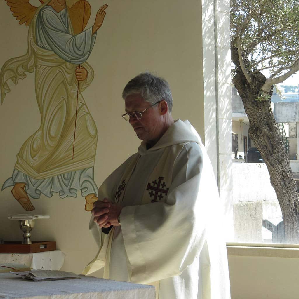 Pater Winkens in Israel