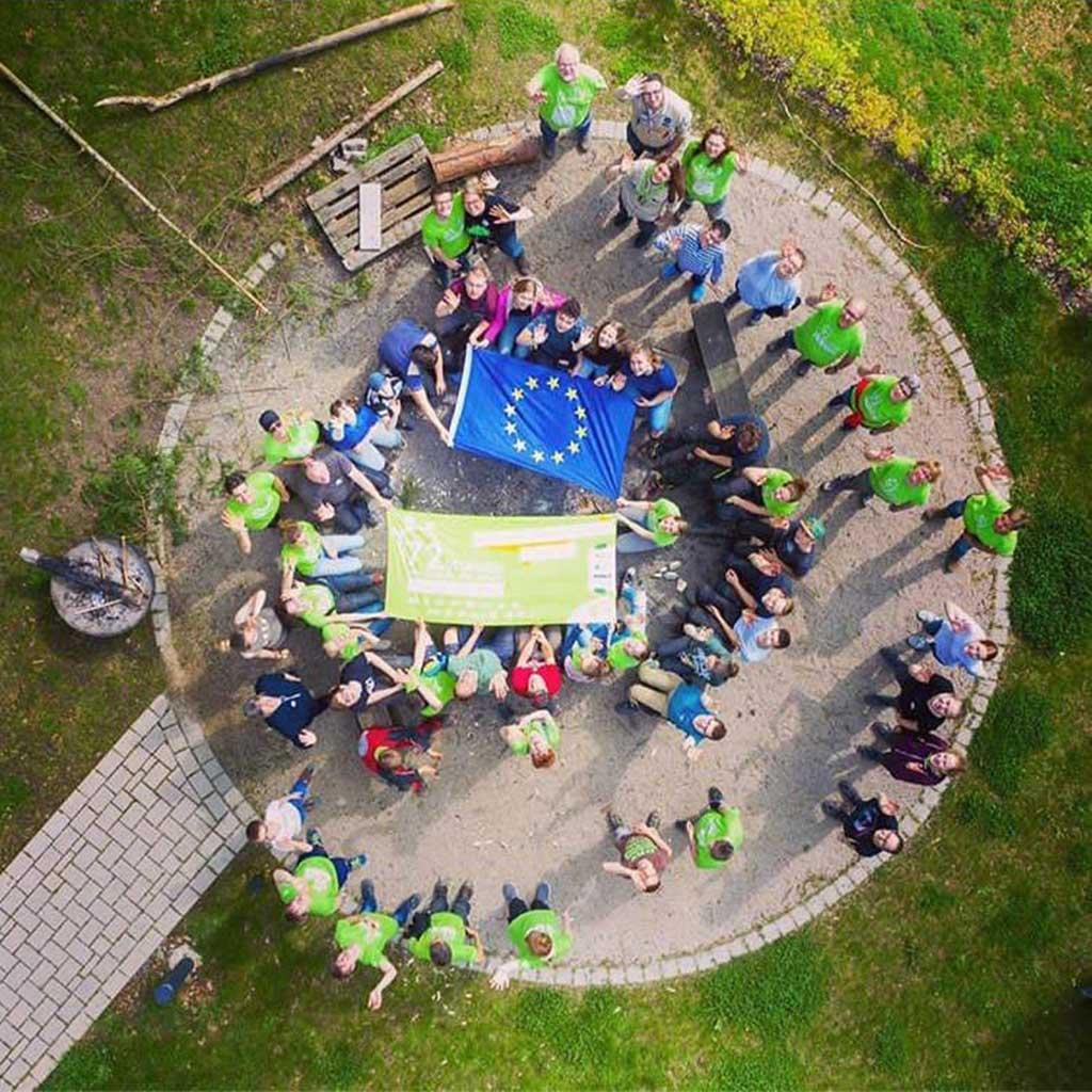 Der Jugendhof Pallotti in Lennestadt bei der 72-Stunden-Aktion 2019