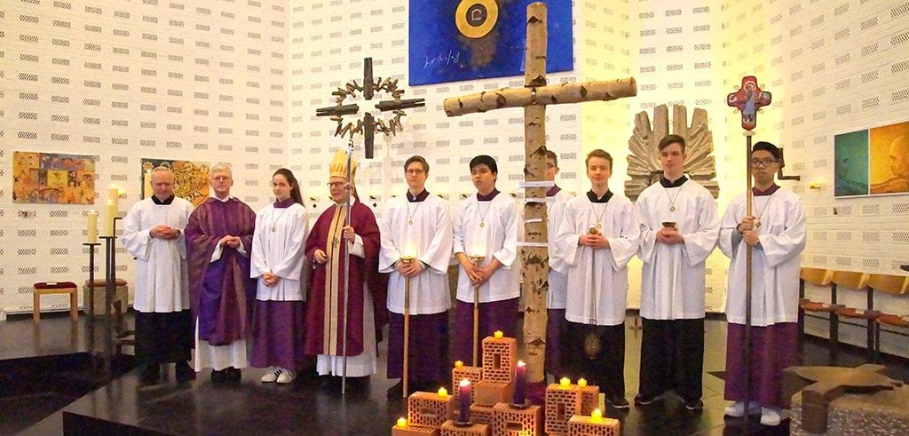 Gedenkgottesdienst für Pater Max Größer SAC 2020 in Hamburg