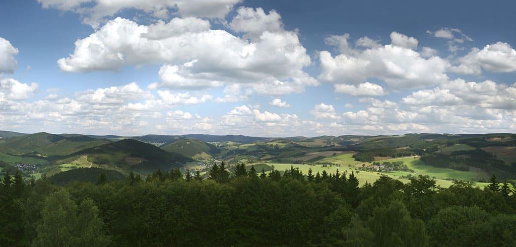 Rothaargebirge Pallottihof Lennestadt