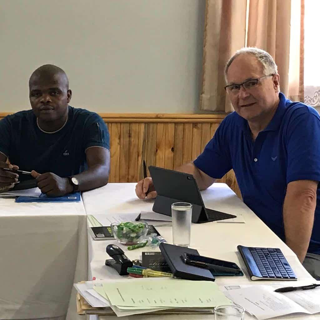 Treffen der Pallottiner in Südafrika mit Vizeprovinzial Pater Michael Pfenning