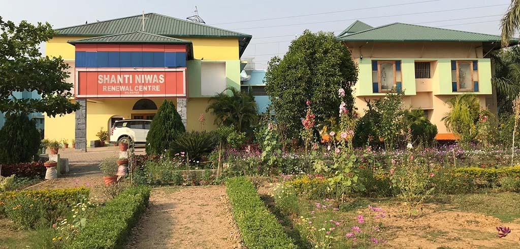 Exerzitienhaus der Pallottiner in Bilaspur Indien