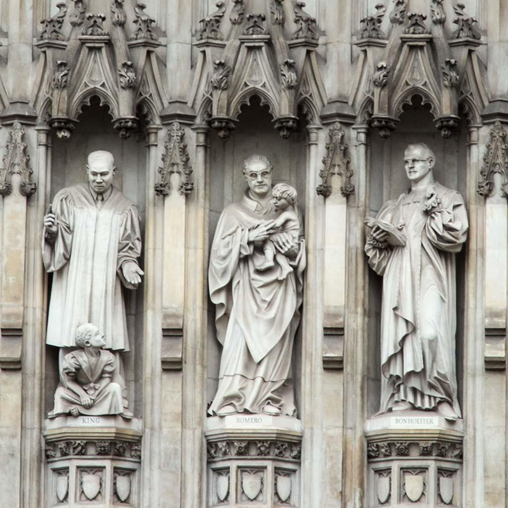 Erzbischof Óscar Romero in Westminster Abbey