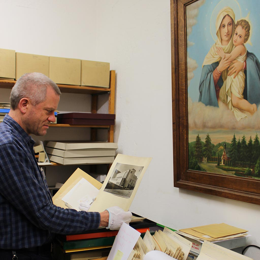 Der Archivar der Pallottiner - Bruder Adams