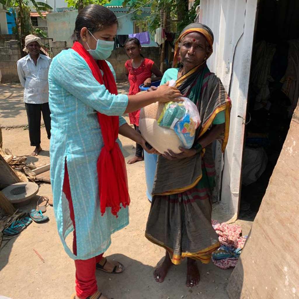 Indien: Corona-Hilfe der Pallottiner