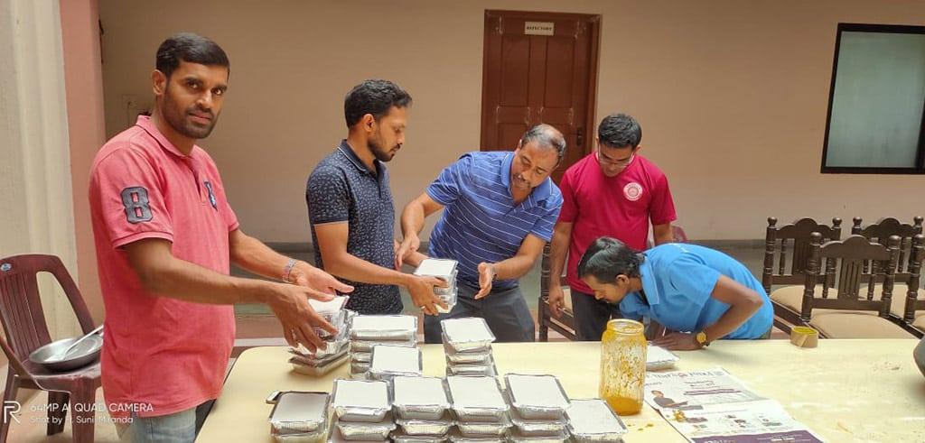 Corona-Hilfe der indischen Pallottiner