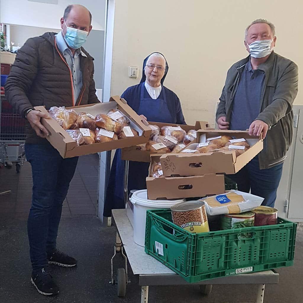 Einsatz für Obdachlose in Salzburg