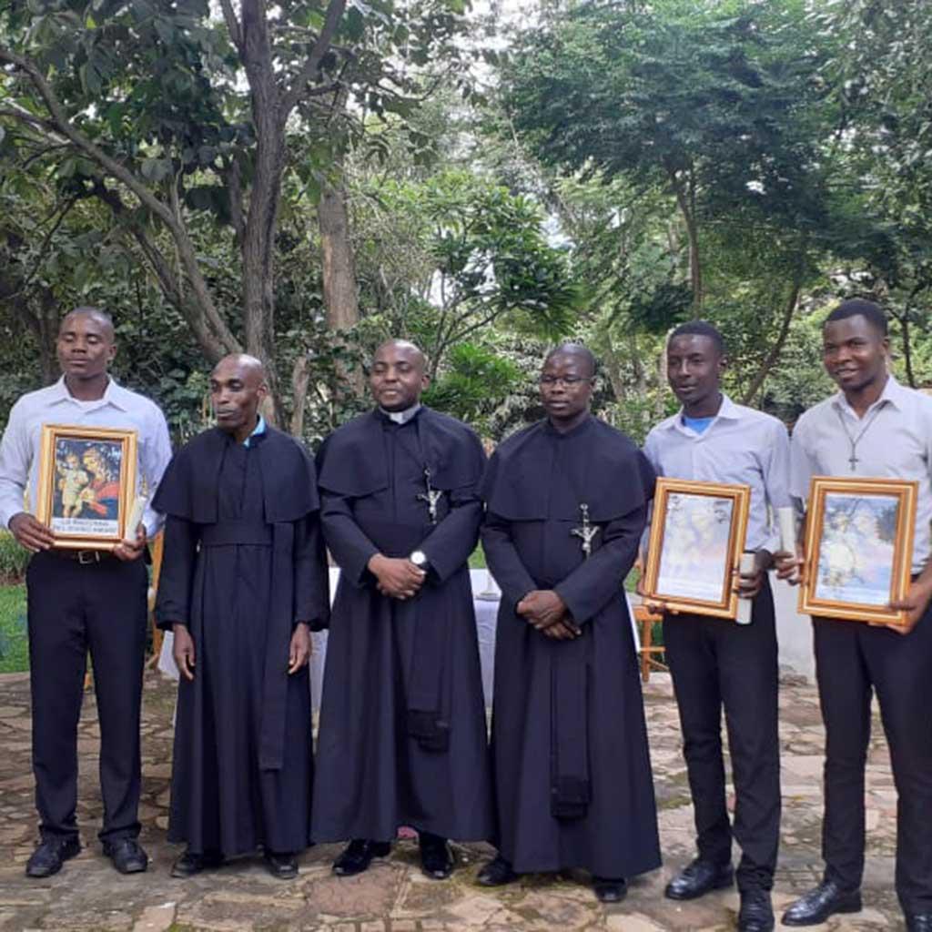 Erstmalig gibt es in Malawi Postulanten der Pallottiner