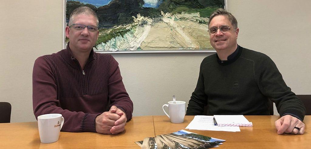 Interview von Pater Hau mit Bruder Bert Meyer