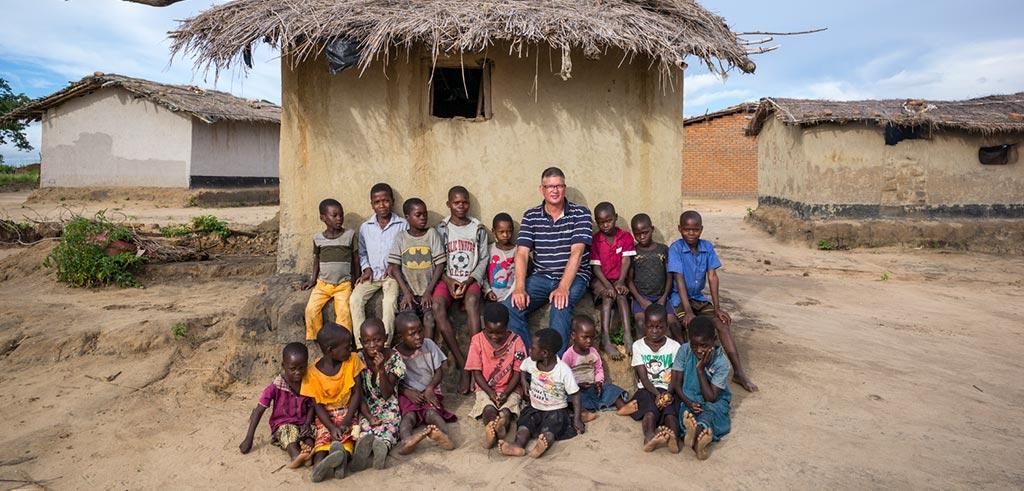 Bruder Bert in Malawi