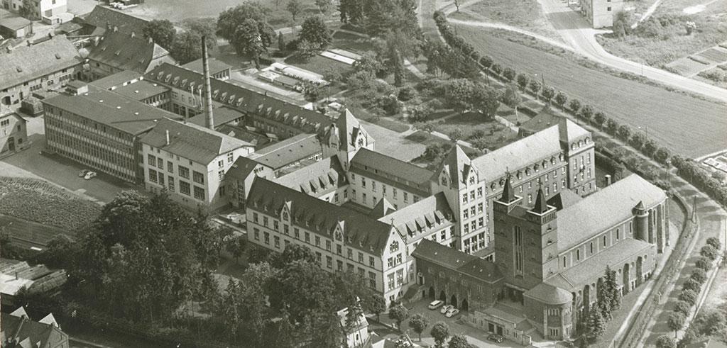 Missionshaus der Pallottiner in Limburg an der Lahn (Historische Aufnahme)