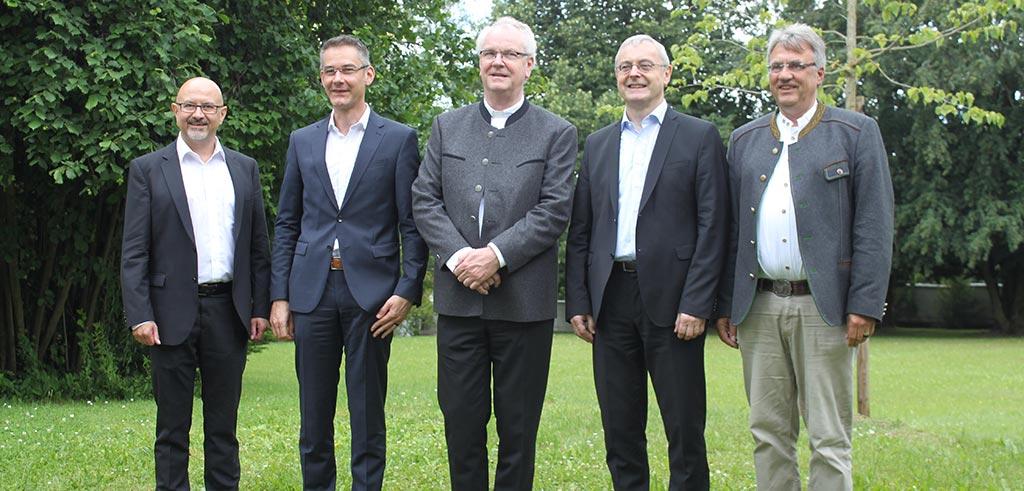 Verabschiedung von Pater Holzbach und Pater Geißler aus der Redaktion