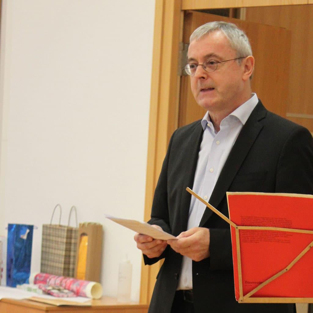 Provinzial Pater Helmut Scharler