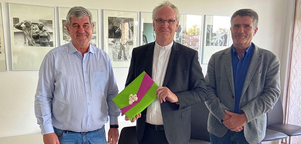 Kinderheim Friedberg dankt den Pallottinern für schnelle Hilfe in der Not