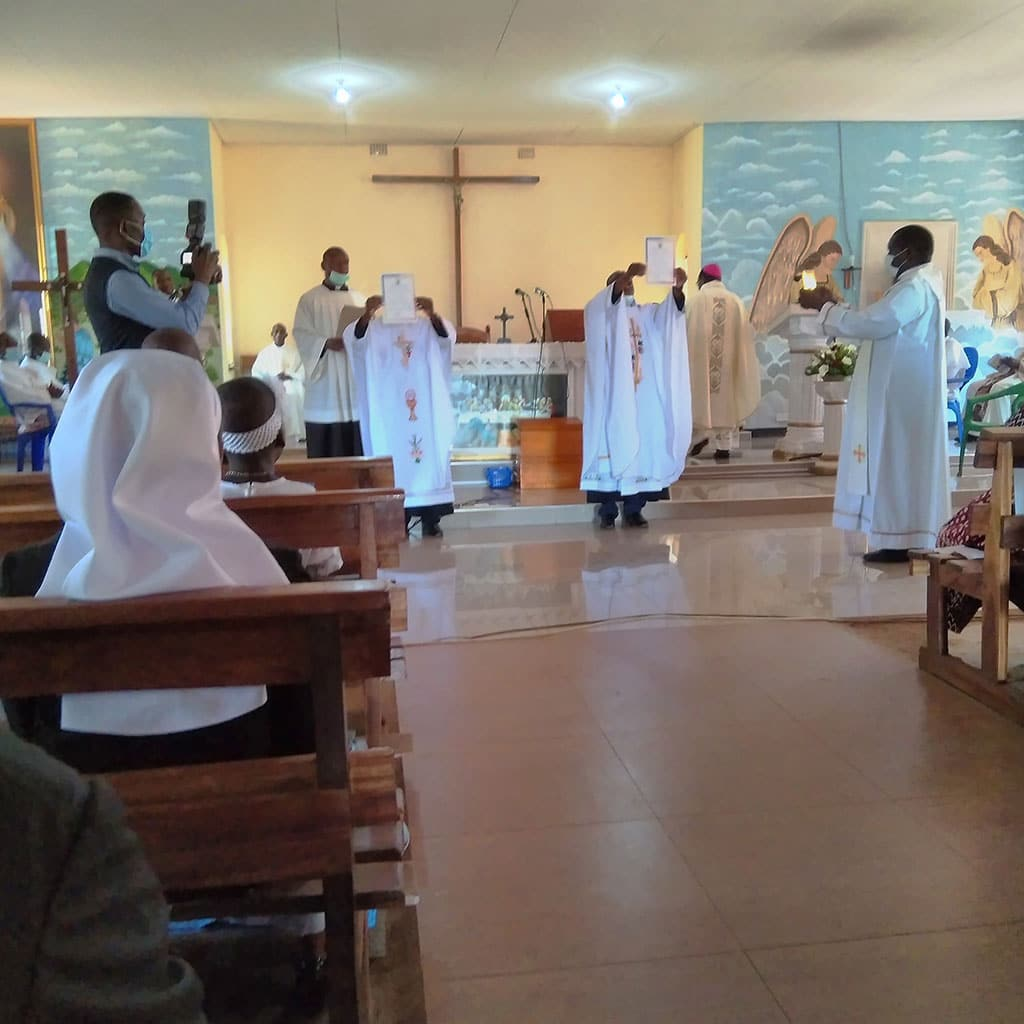Pallottines became Priests in Lilongwe Malawi