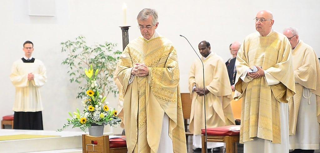 Goldenes Priesterjubiläum von Pater Heribert Niederschlag 2020