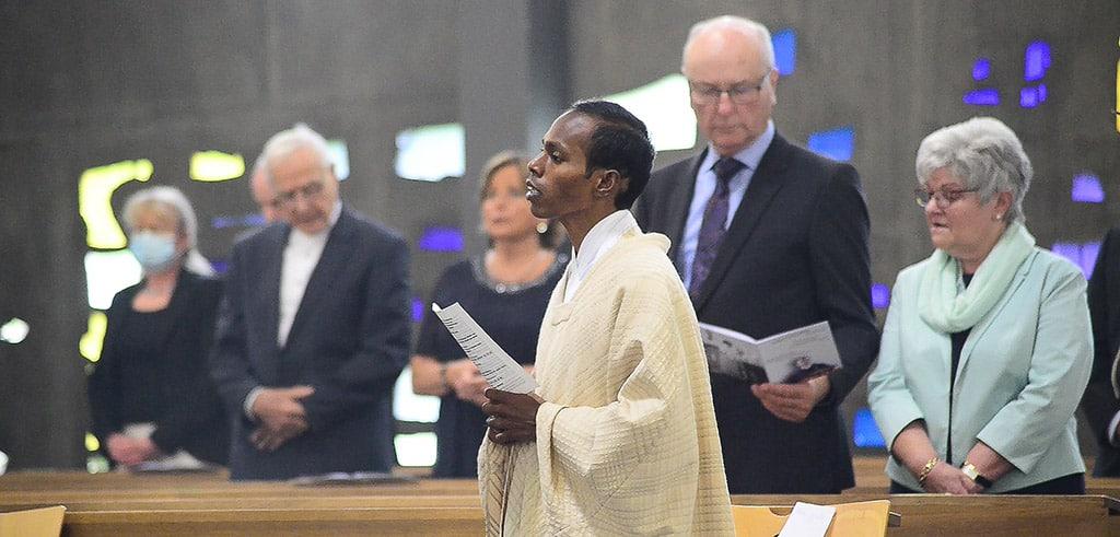 Goldenes Priesterjubiläum von Pater Niederschlag in Vallendar
