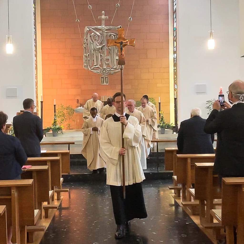 Festgottesdienst in der Hochschulkirche der PTH in Vallendar
