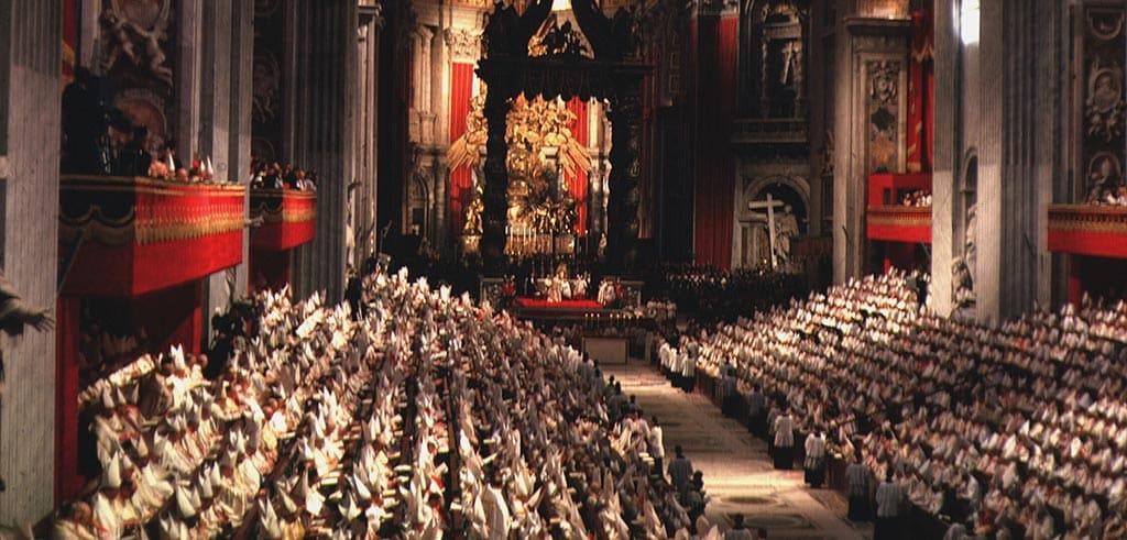 Eröffnung des Zweiten Vatikanischen Konzils in Rom