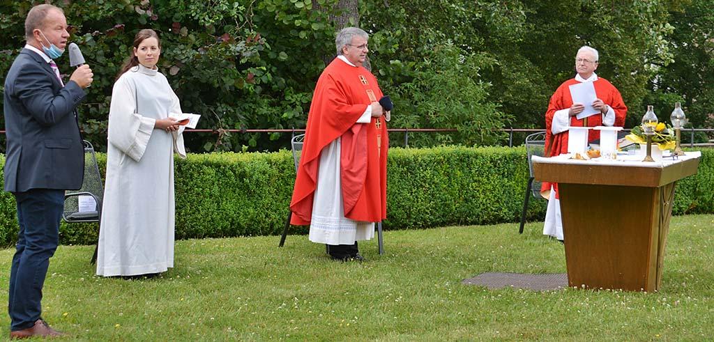 Maria Bildhausen dankt Pallottiner-Pater Gottfried Scheer SAC