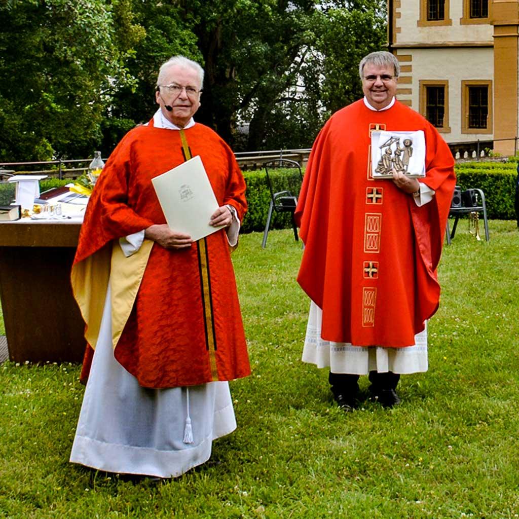 Abschied von Pater Gottfried Scheer aus Maria Bildhausen