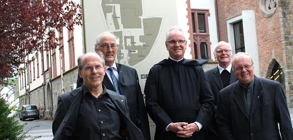 Die gewählte Leitung der Niederlassung der Pallottiner in Limburg