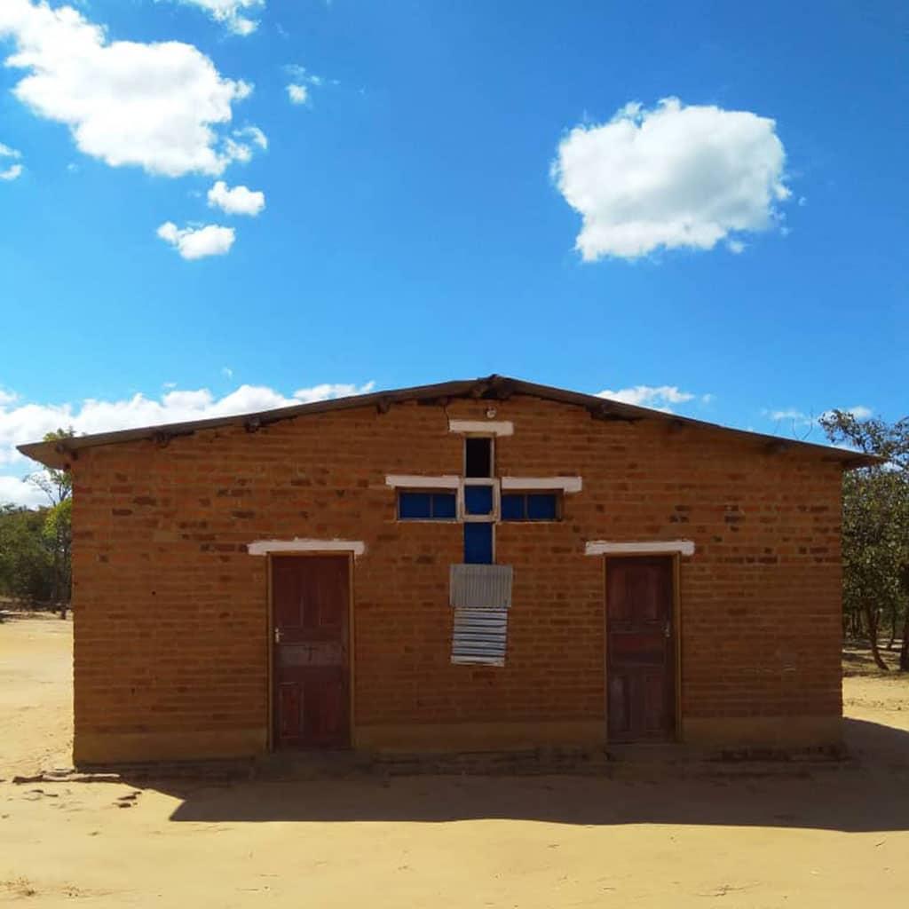Die ehemalige Kirche in Kaphatika