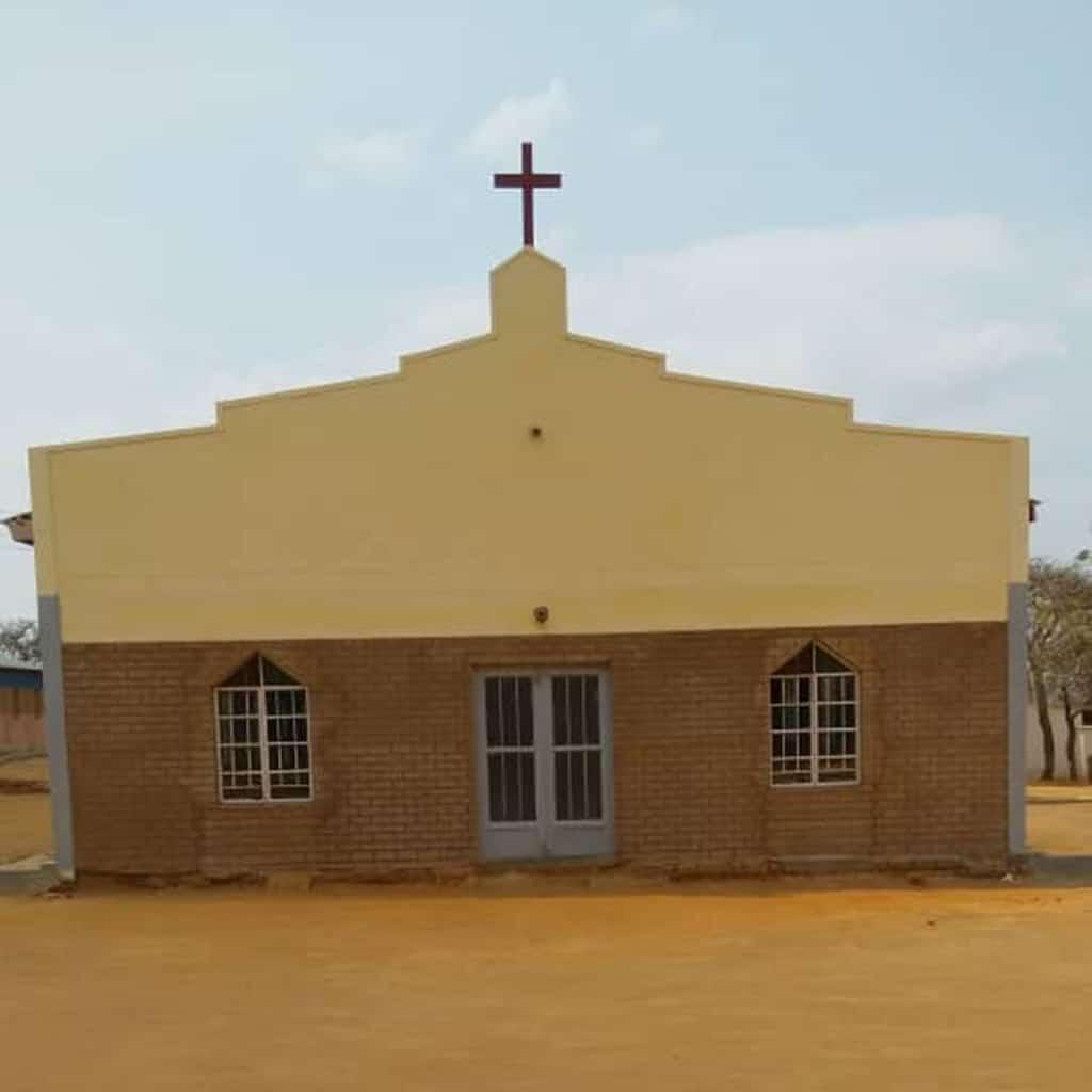 Die neue Kirche in Kaphatika