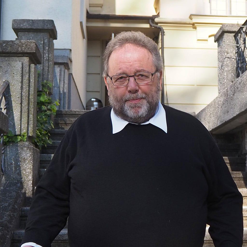 Pater Rüdiger Kiefer ist der neue Rektor der Pallottiner-Kommunität in Salzburg