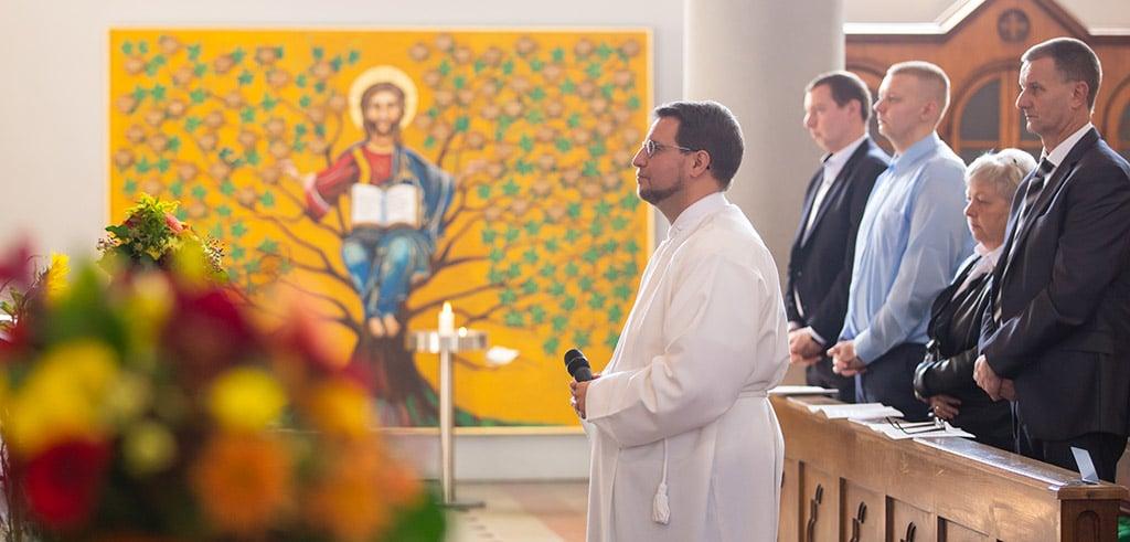 Herausgerufen - der Berufung folgen: Diakonenweihe in Friedberg (Bayern)