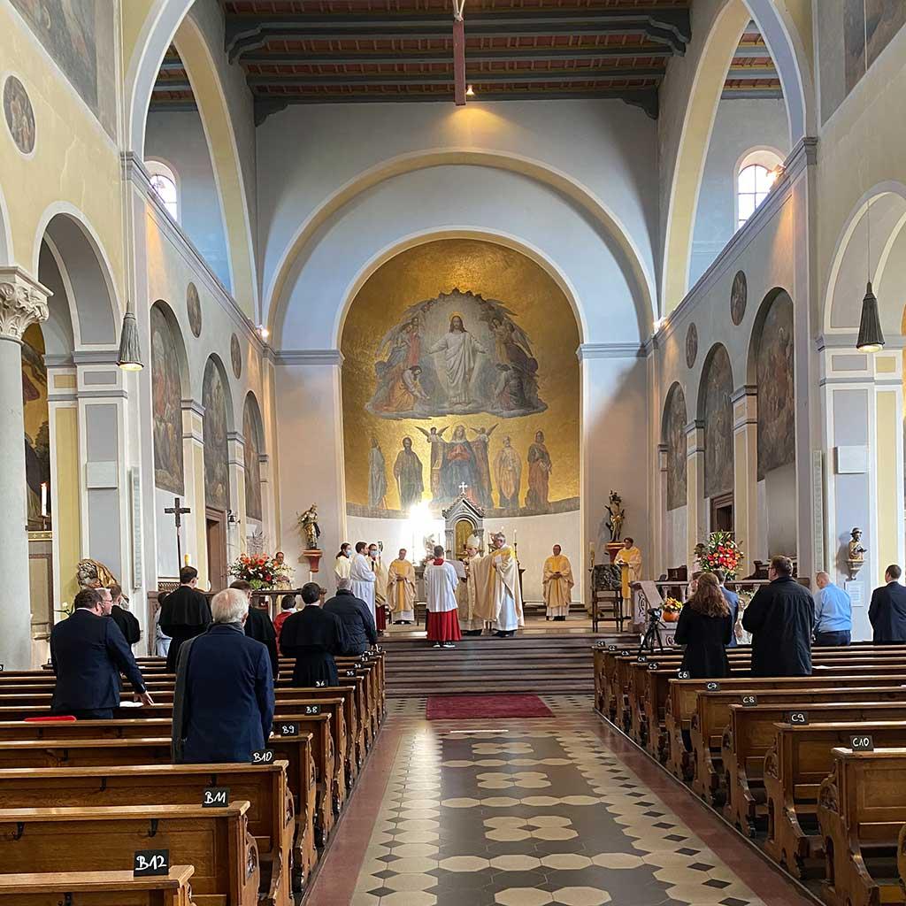 Weihe von Diakon Marcus Grabisch in Friedberg St. Jakob