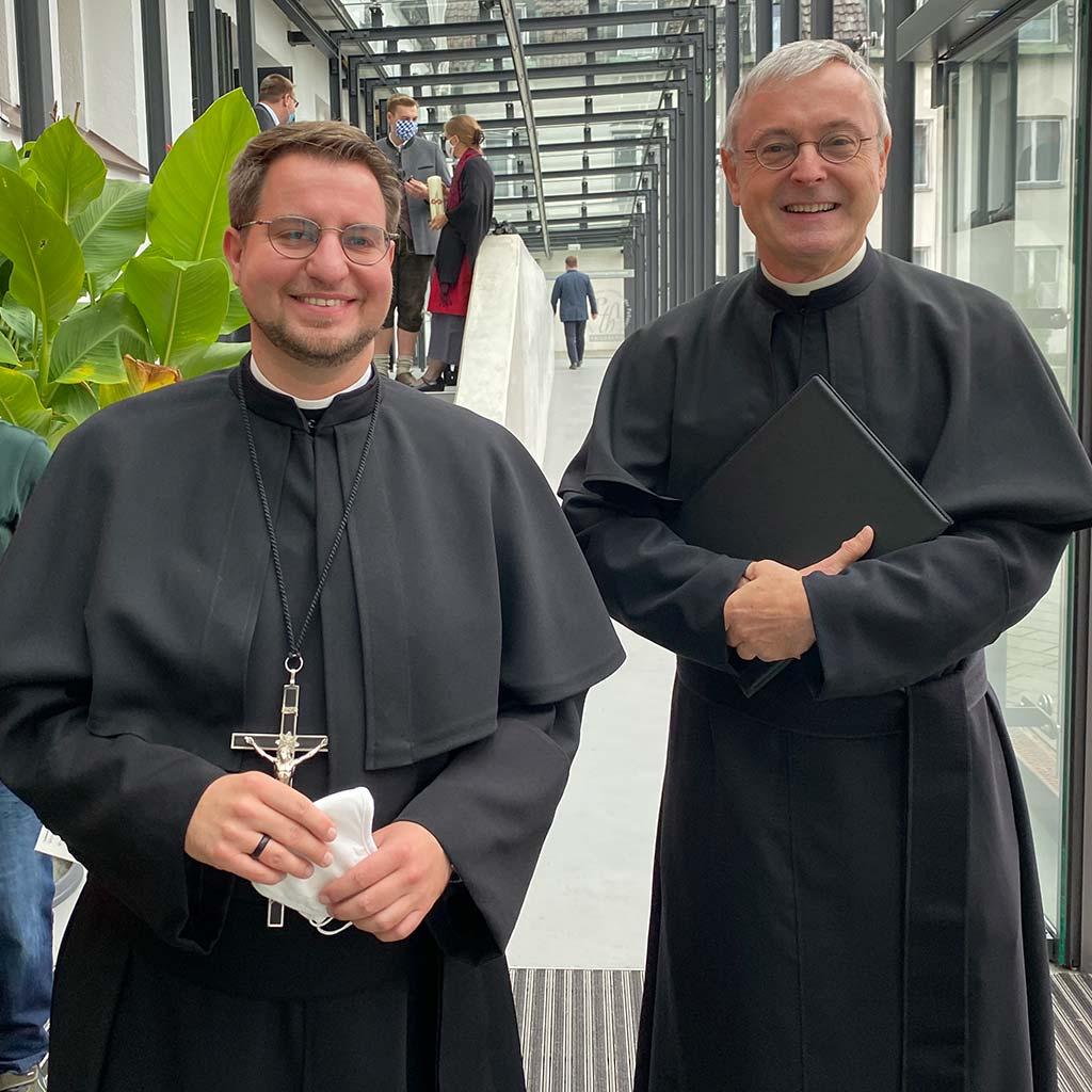 Ewige Profess von Frater Marcus Grabisch SAC in Friedberg