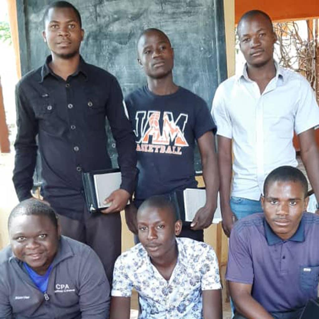 Postulanten der Pallottiner in Malawi